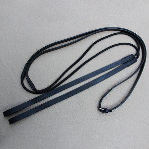 Draw reins bridles
